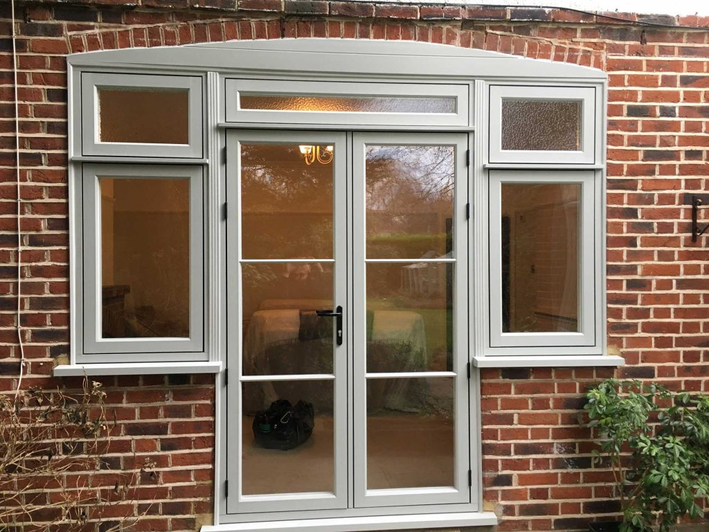 New uPVC back door fitted to a high standard