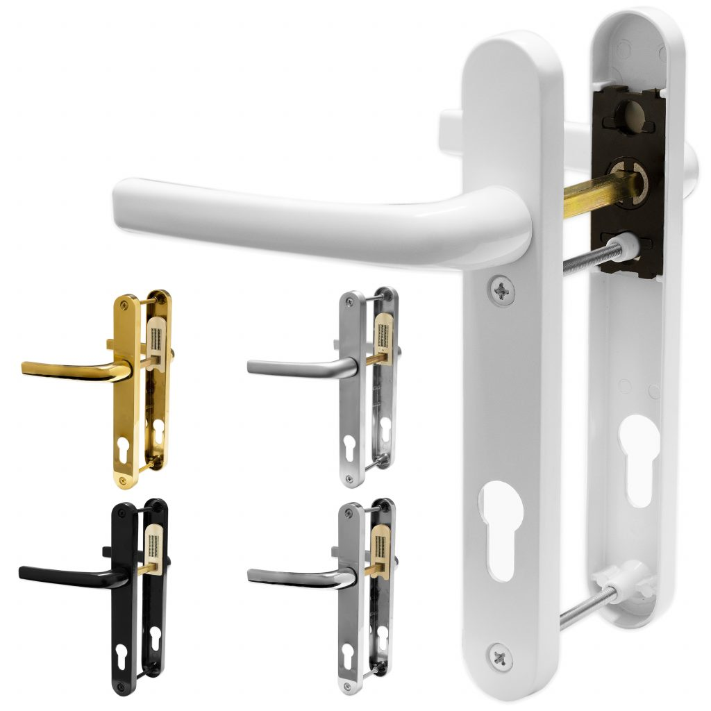 standard supplied uPVC back door lock